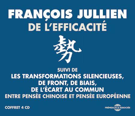 François Jullien, philosophe, helléniste et sinologue français, nous propose de mettre en perspective les pensées occidentales et chinoises pour revenir sur les grandes notions fondatrices de notre manière d'appréhender le monde.  Le déplacement auquel nous invite la pensée chinoise offre, en effet, de précieuses ressources pour percevoir nos choix culturels les plus enfouis et les interroger du dehors. Par écart avec la vision européenne fondée sur la modélisation, la détermination des buts et l'action, la Chine pense l'expérience en termes de transformations silencieuses et de maturation des conditions. En résulte une stratégie qui tend à tirer parti du potentiel de la situation au lieu d'affronter celle-ci. De ces cohérences de la pensée chinoises, on pourra tirer des concepts pour atteindre une meilleure effi cacité et découvrir une autre voie vers la morale.