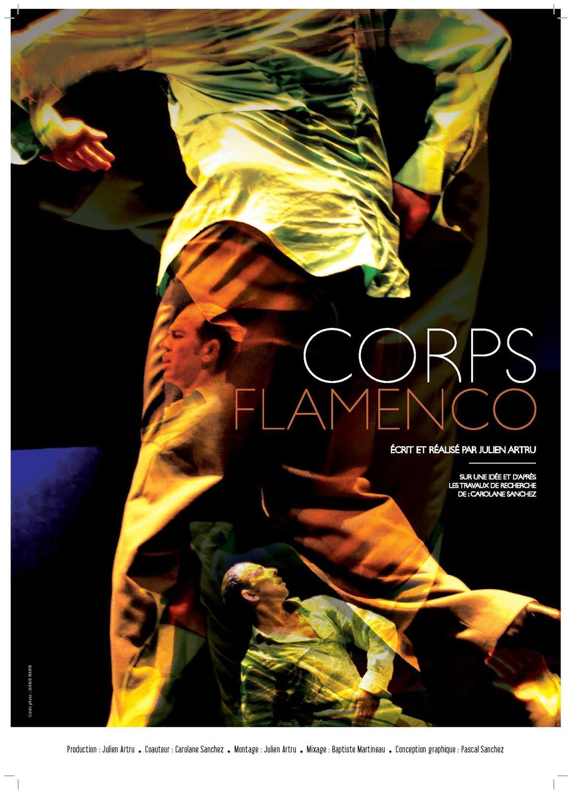 "Projection ""Corps flamenco"" Festival Flamenco Dusseldorft"