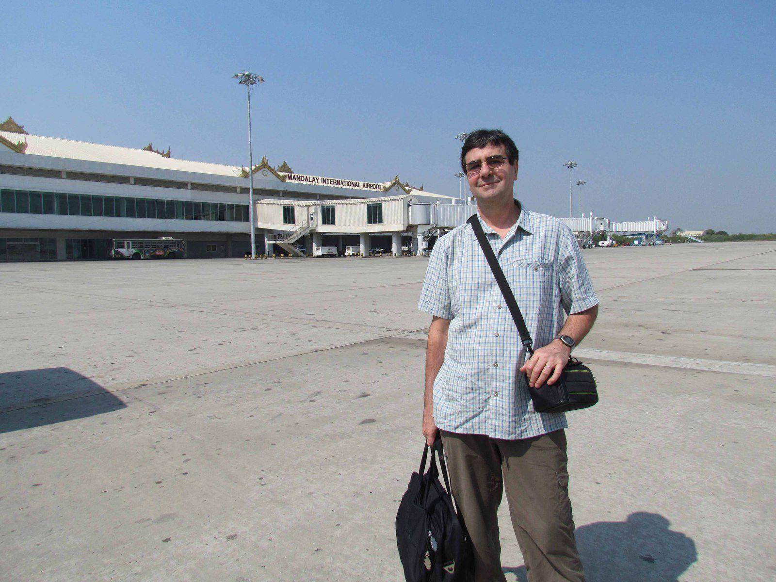 Arrivée à Mandalay(Birmanie)