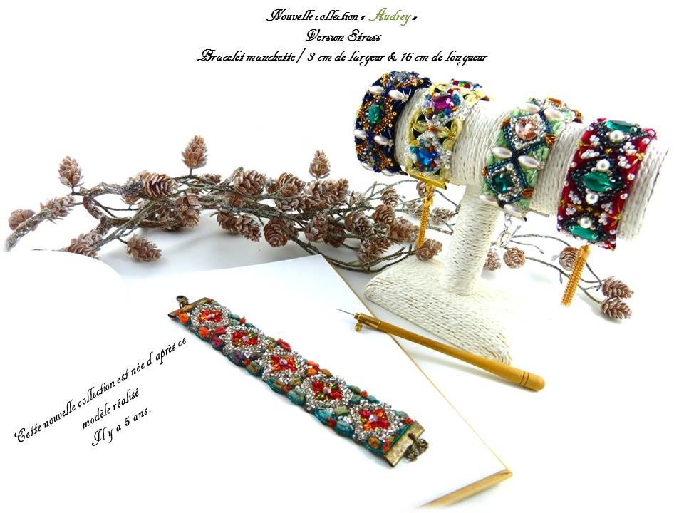 Nouvelle collection avec bracelet de style manchette...
