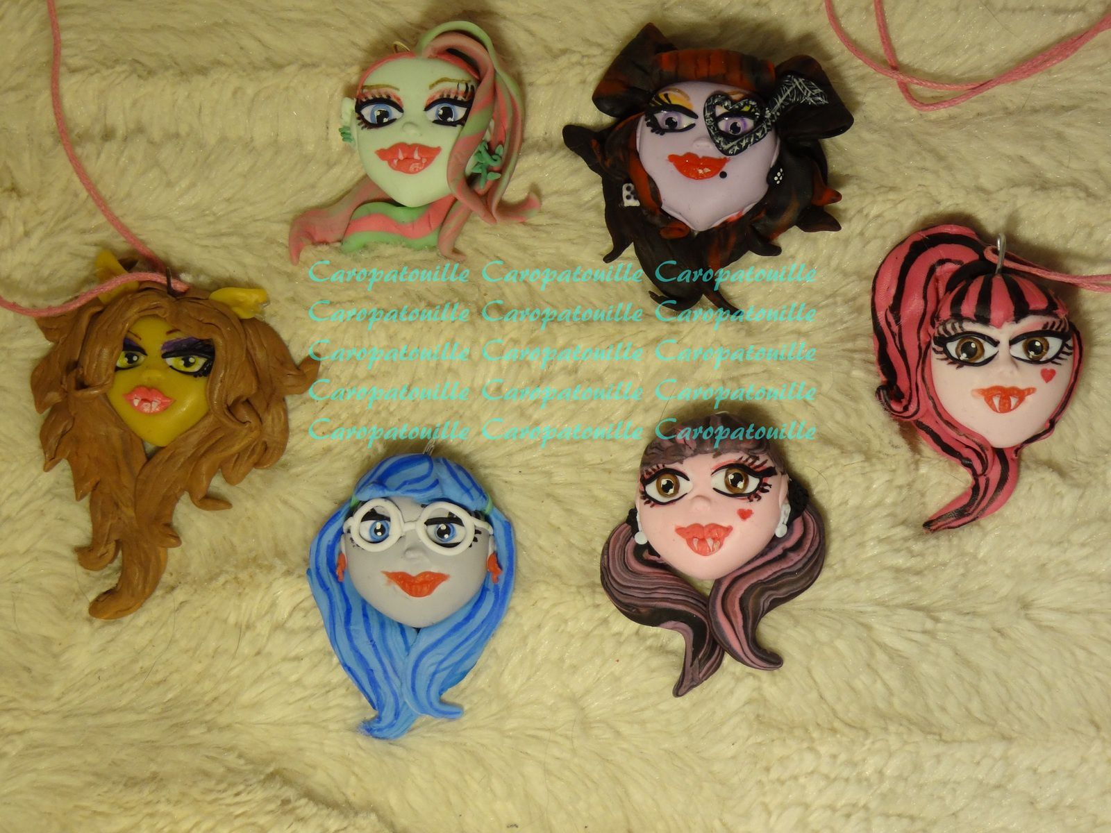 Pendentifs Monster High