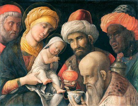 Adoration des mages - Andrea Mantegna