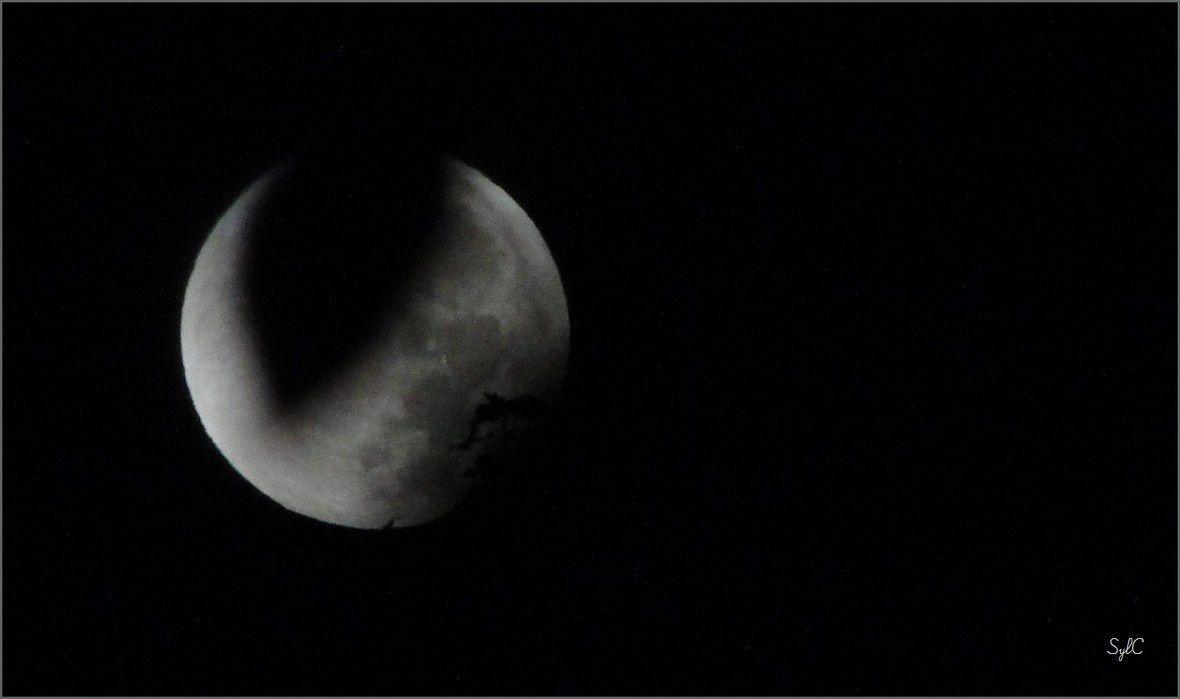 4 ans... et éclipse de lune...