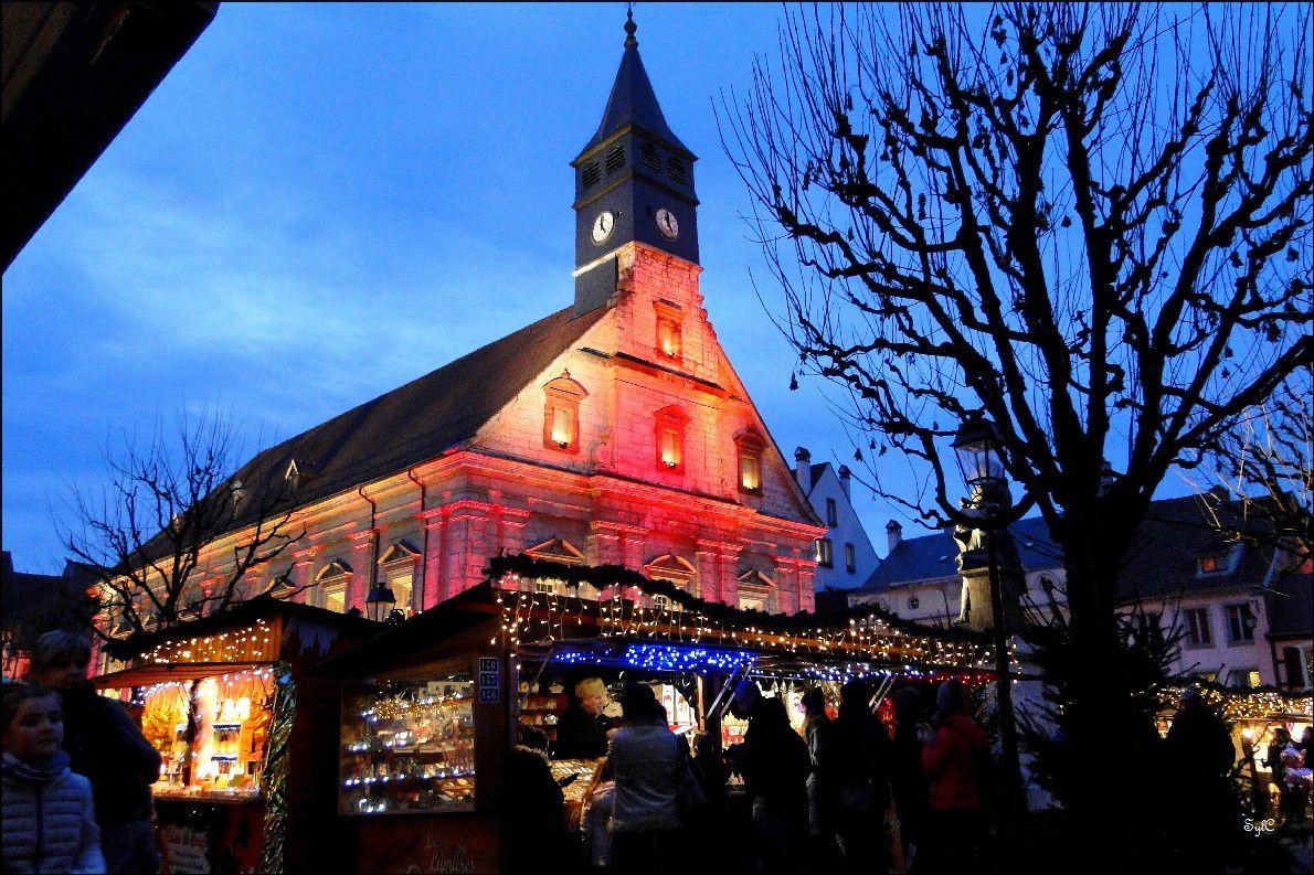 Le temple Saint-Martin à Montbéliard...