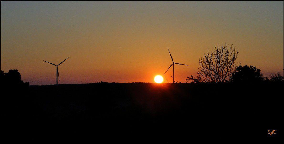 éoliennes...