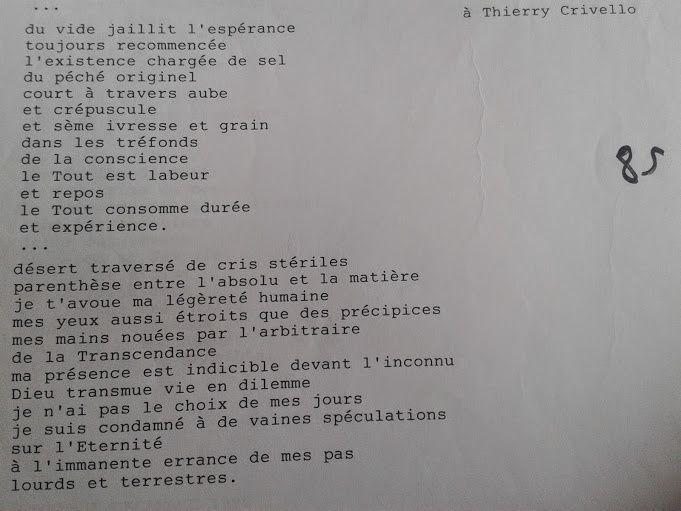 © Eric Dubois  - Poèmes de 1996 (2)