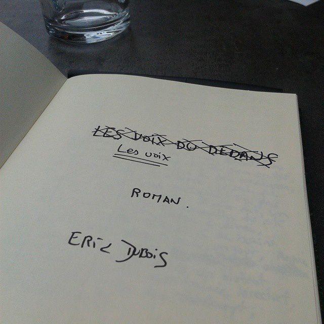 Les voix-  ( Titre provisoire) - Eric Dubois- DR - Photo © Eric Dubois