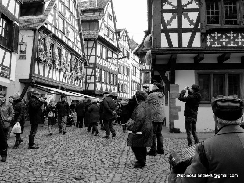 ALSACE : les marchés de Noel _ Strasbourg