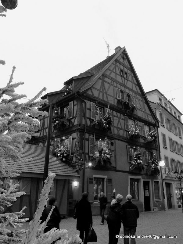 ALSACE : les marchés de Noel....COLMAR