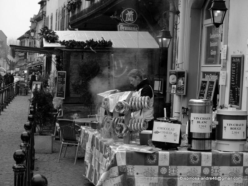 ALSACE : les marchés de Noel...RIQUEWIHR et KAYSERSBERG