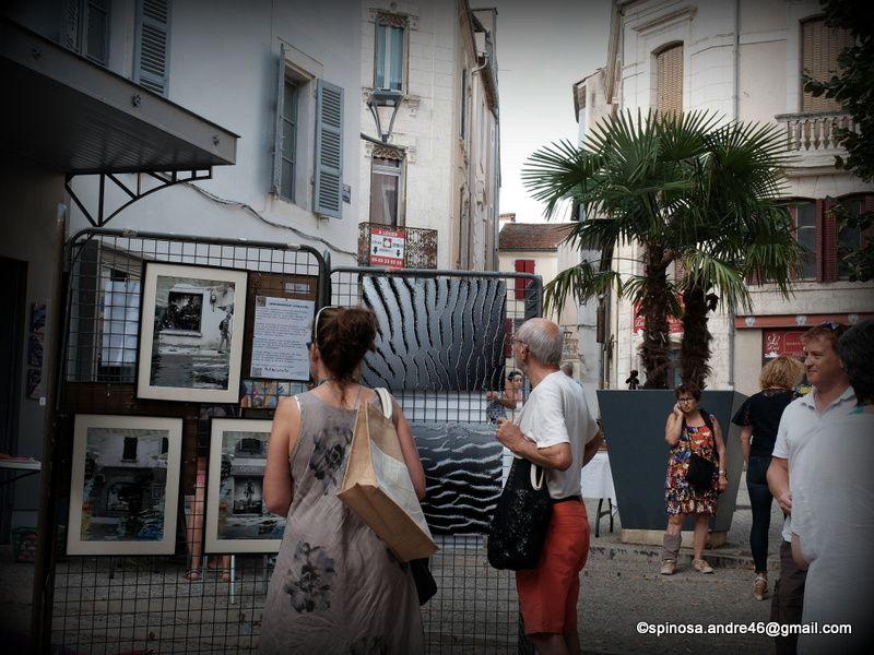 Cahors : place de la Libération ce 26 aout 2017