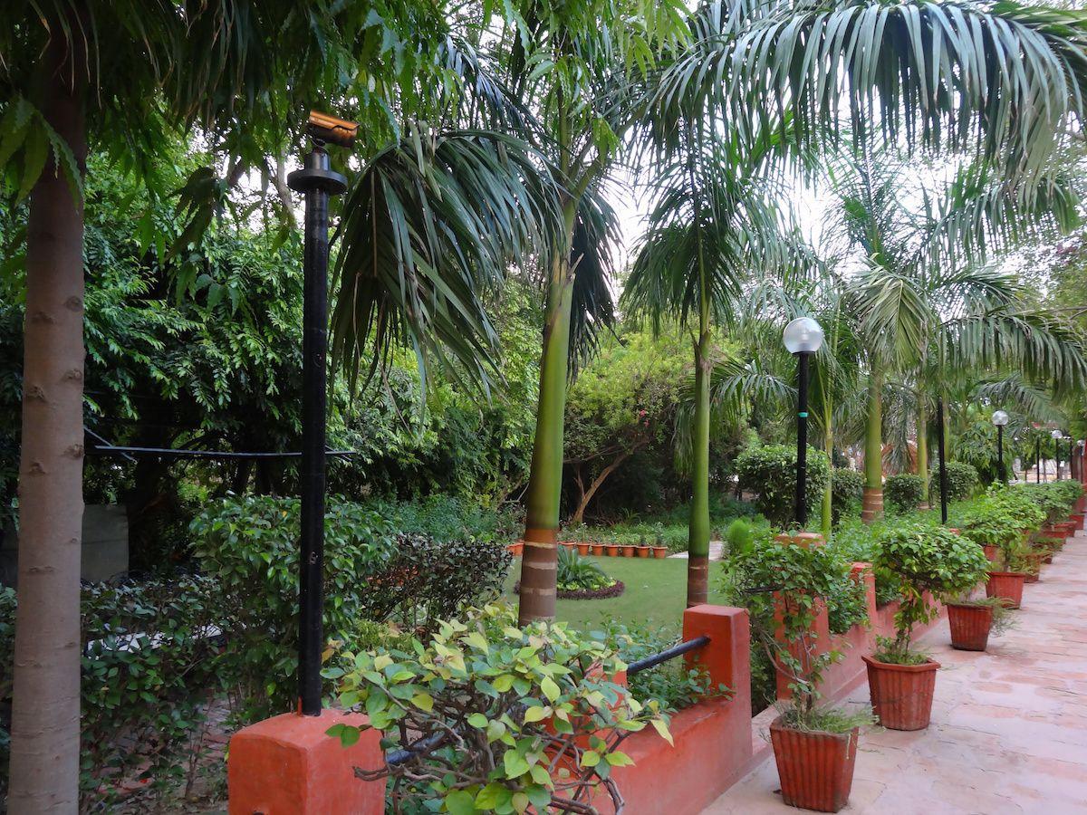 Le jardin du Sheela Hotel