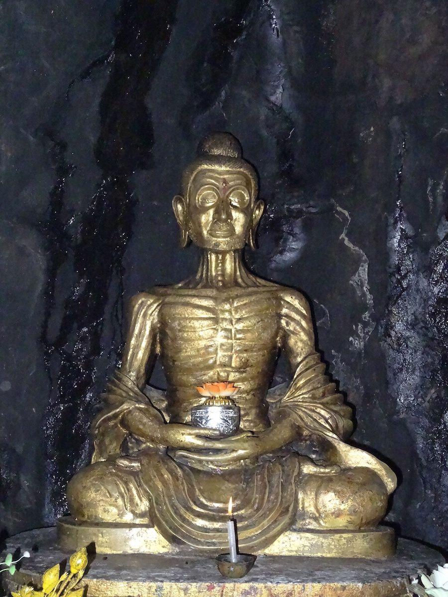 Bouddha ascétique
