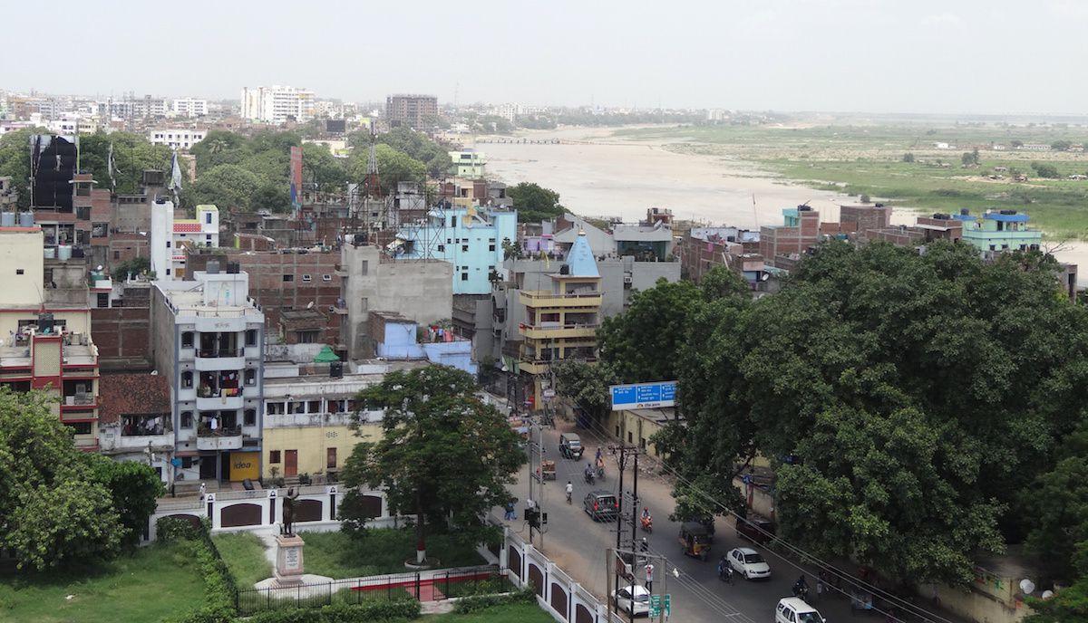 Patna vue du Golghar