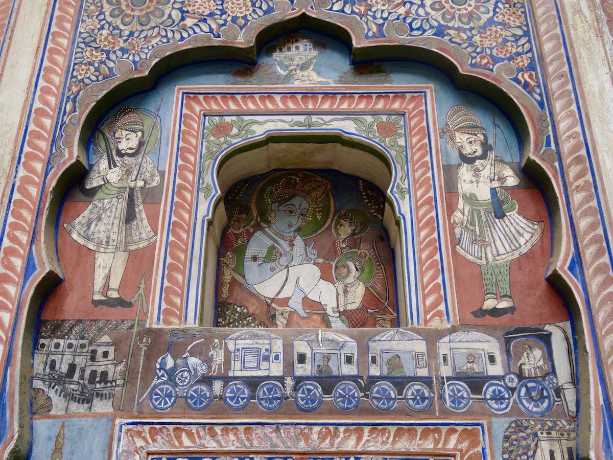 Fresques de havelis