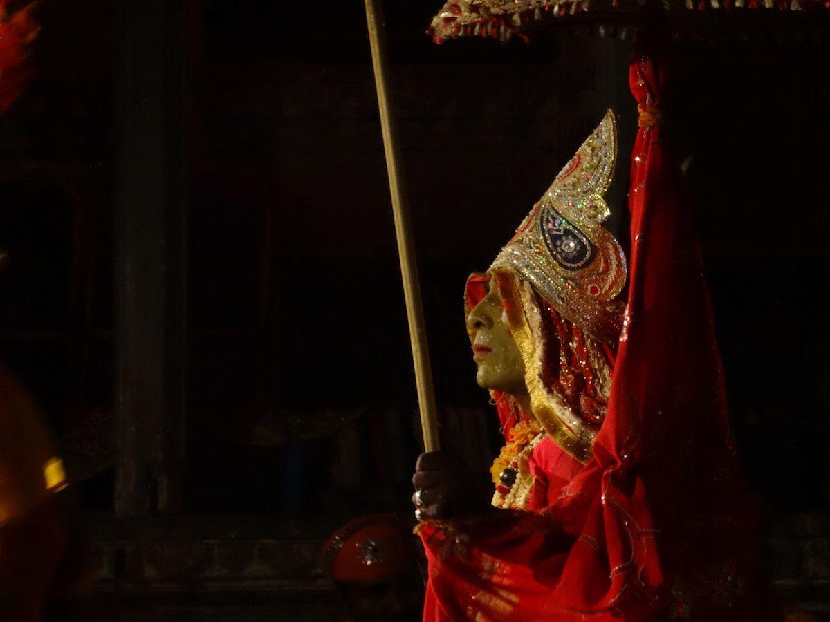 Danseur à la Bagore Ki Haveli