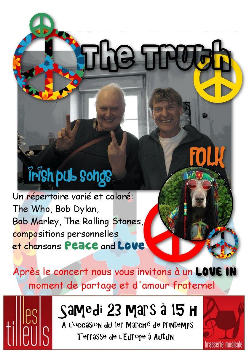 The Truth en Concert - Samedi 23 mai à 15h