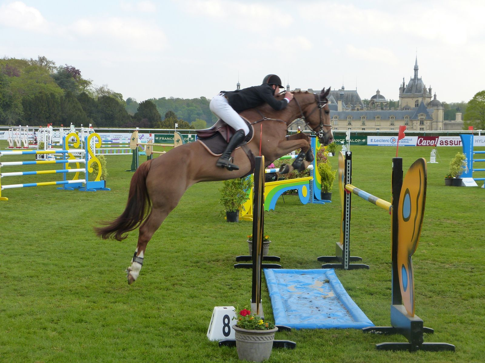Jumping à Chantilly