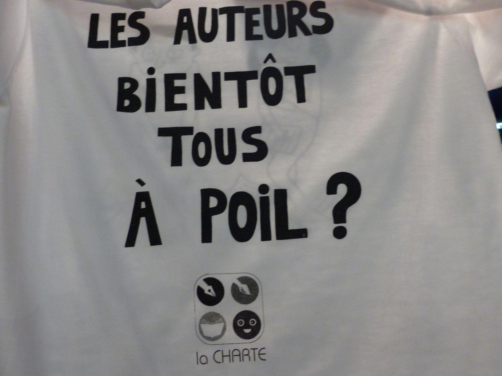 c'était ce jour, dernier jour du Salon du Livre de la Jeunesse à 93 Montreuil...