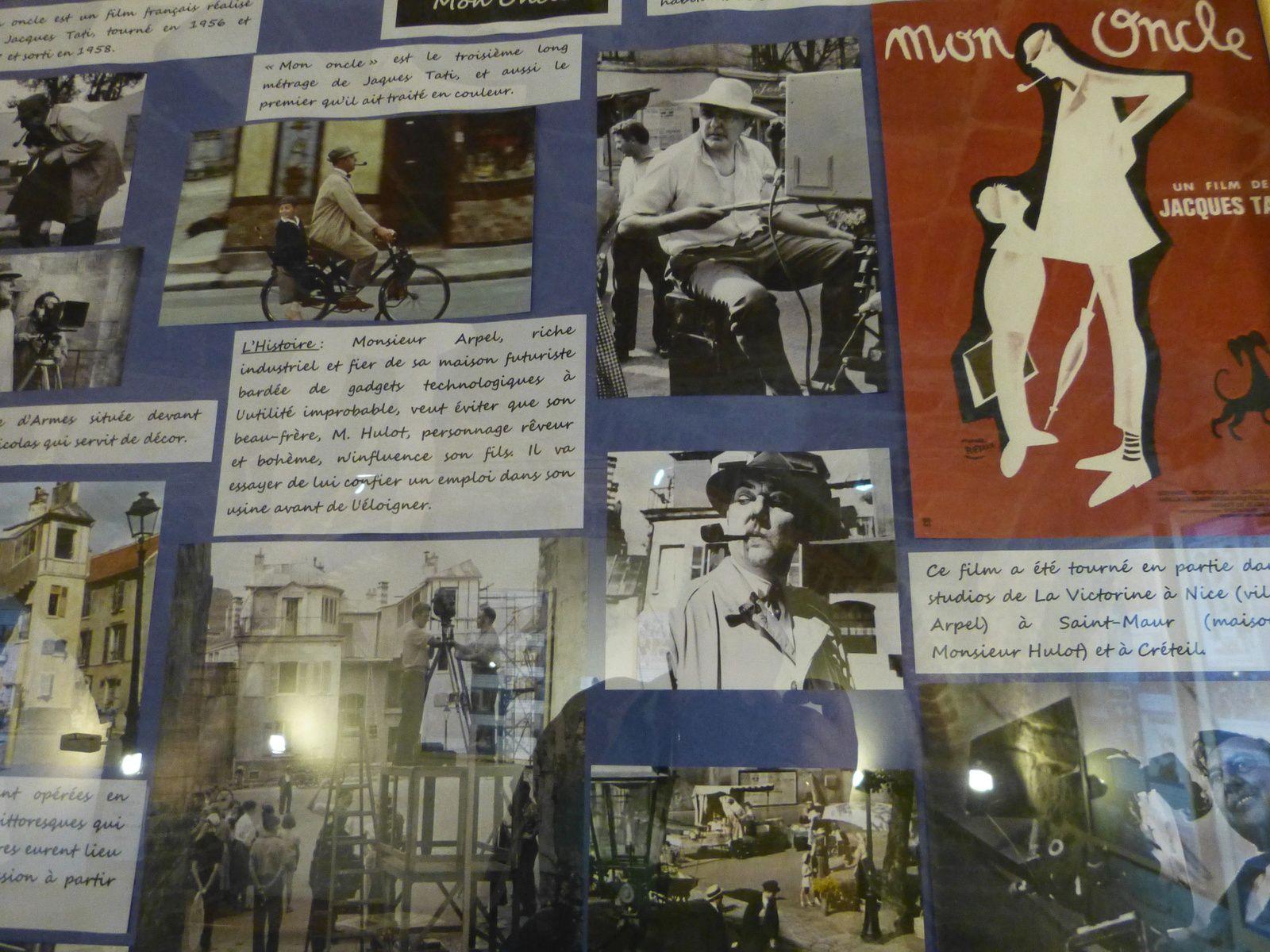 Bravo à cette initiative conjointe des archives municipales de St Maur 94 et du P.I.L.A. ou se tient cette excellente exposition sur les films tournés dans notre cité....