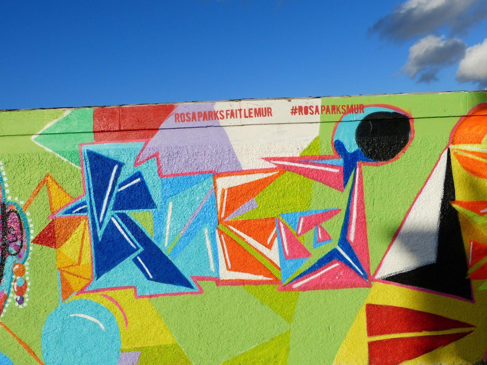 c'est de l'excellent Street-Art militant pour une bonne cause et c'est en ce moment à Paris...