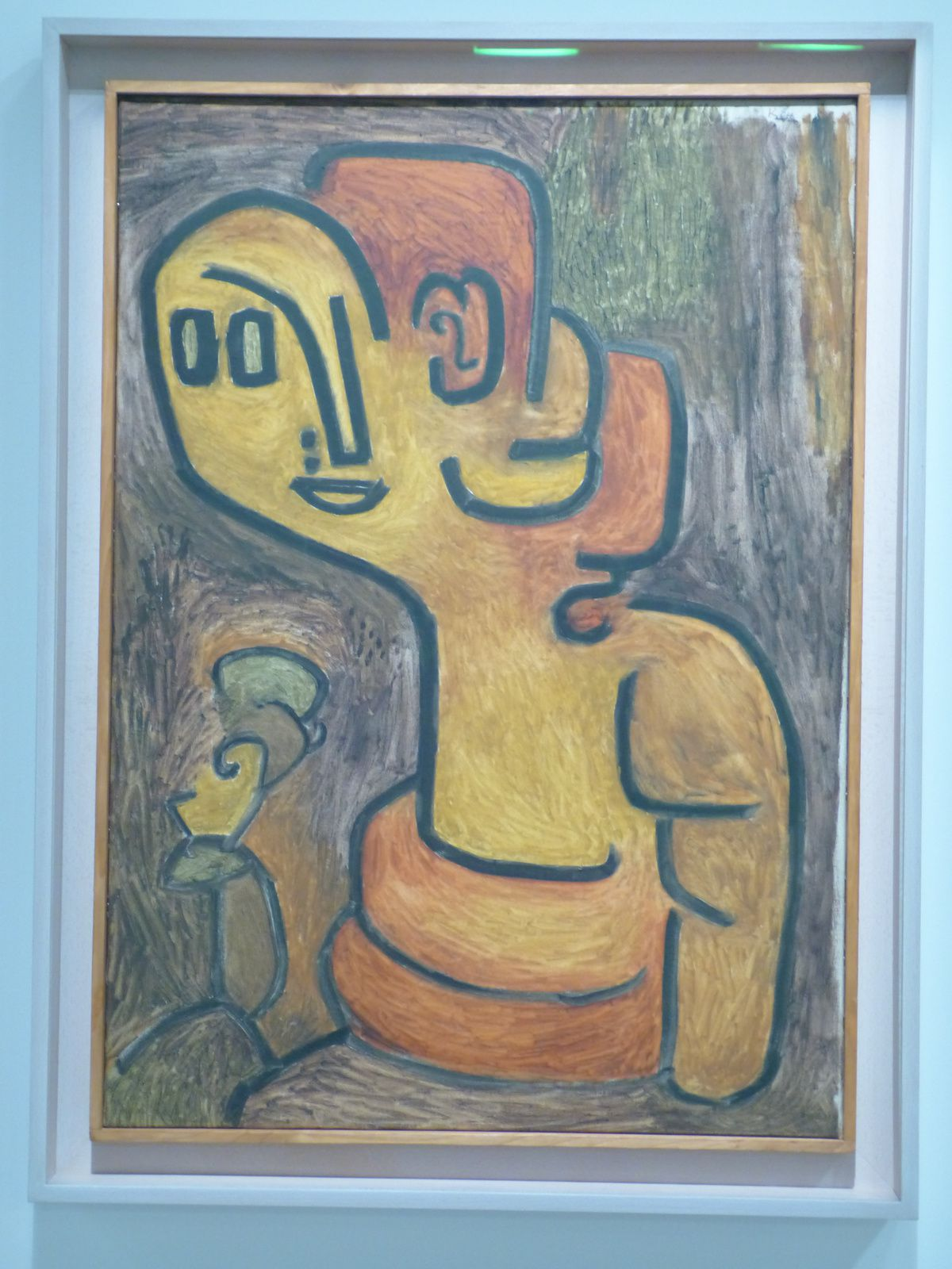 en ce moment Exposition Paul Klee au Centre Pompidou à Paris.