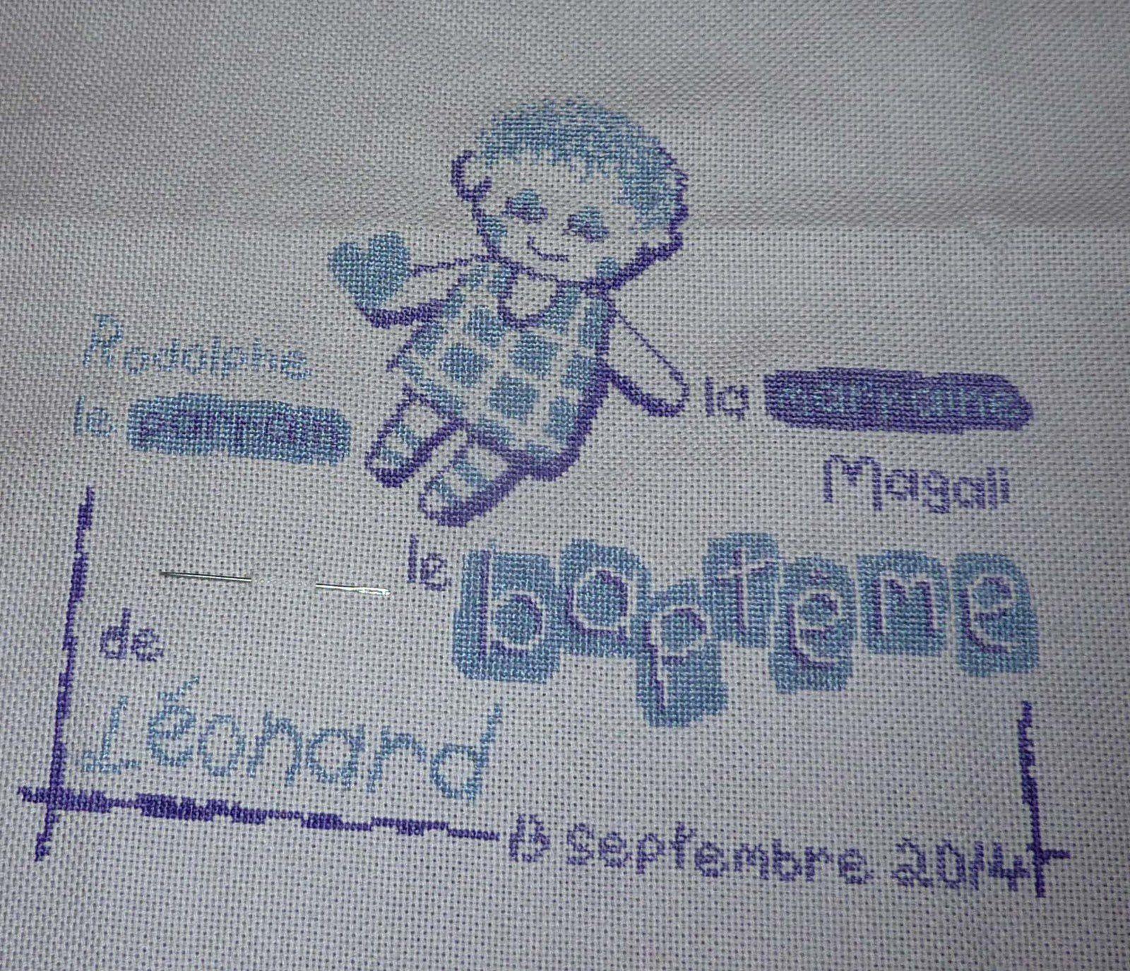 Le baptême de... Léonard ! (08)