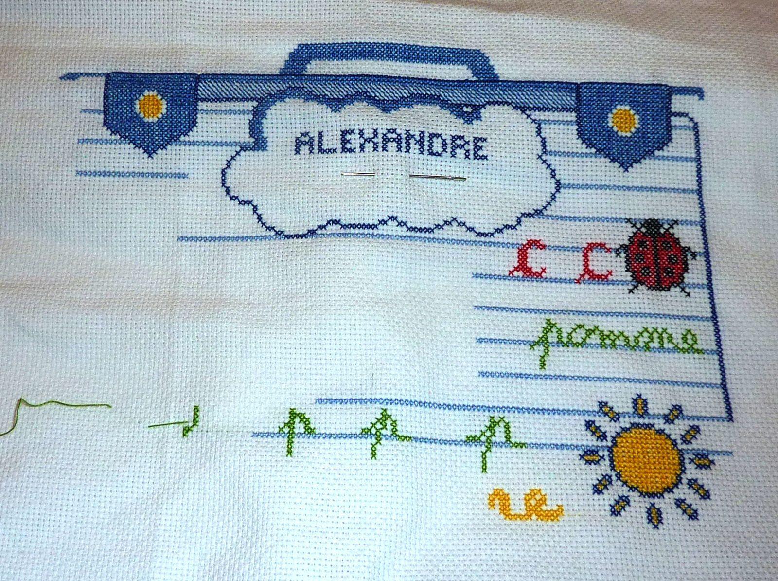 Alexandre entre au... (3)