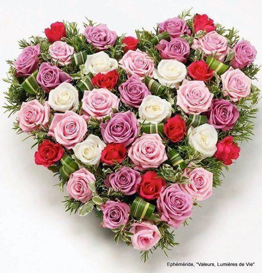 Rose-Marie comme tu m'appelais coeur de roses pour toi...