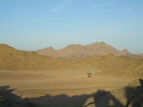 Le désert en Egypte ...