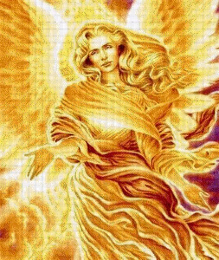 Symbole de la terre Gaïa ..ou Demèter