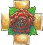 La rose symbole d'amour et de connaissance...