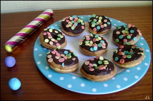 Les minis donuts du prince carnaval