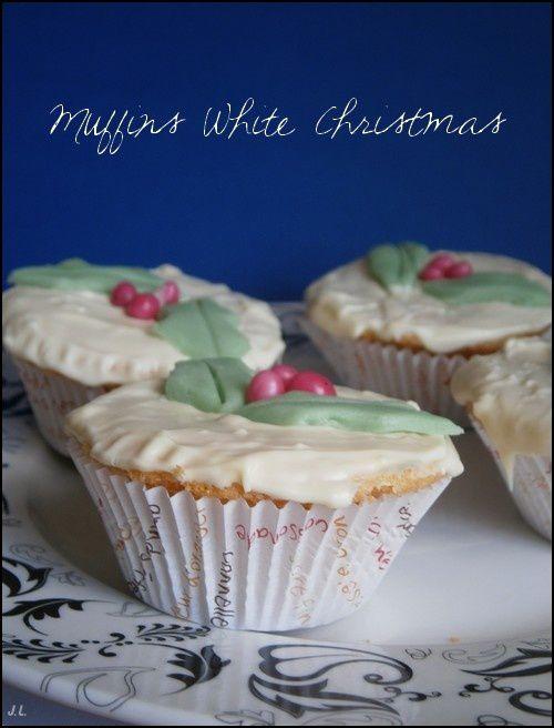 Muffins white christmas