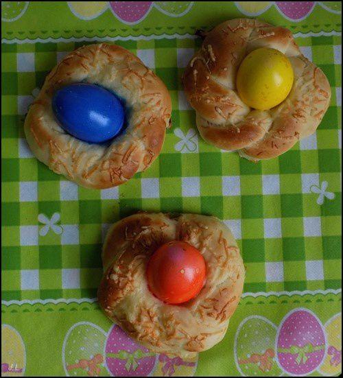 Petits pains de Pâques