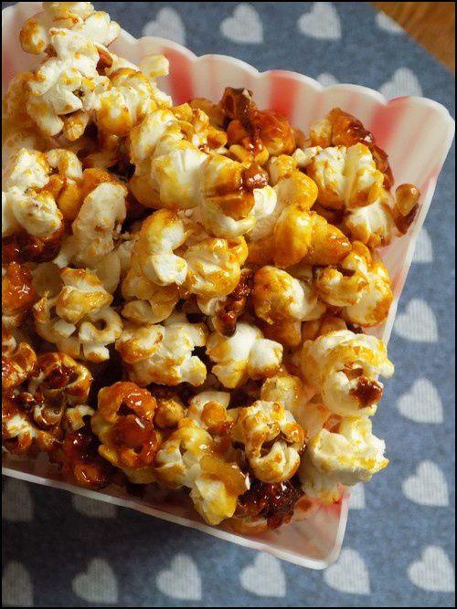 Pop corn caramélisés