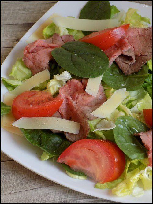 Salade roastbeef- comté