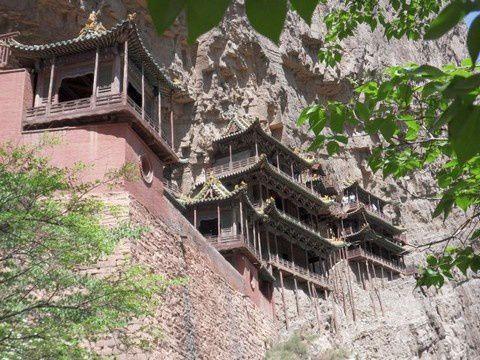 Temple suspendu (Xuankongsi)