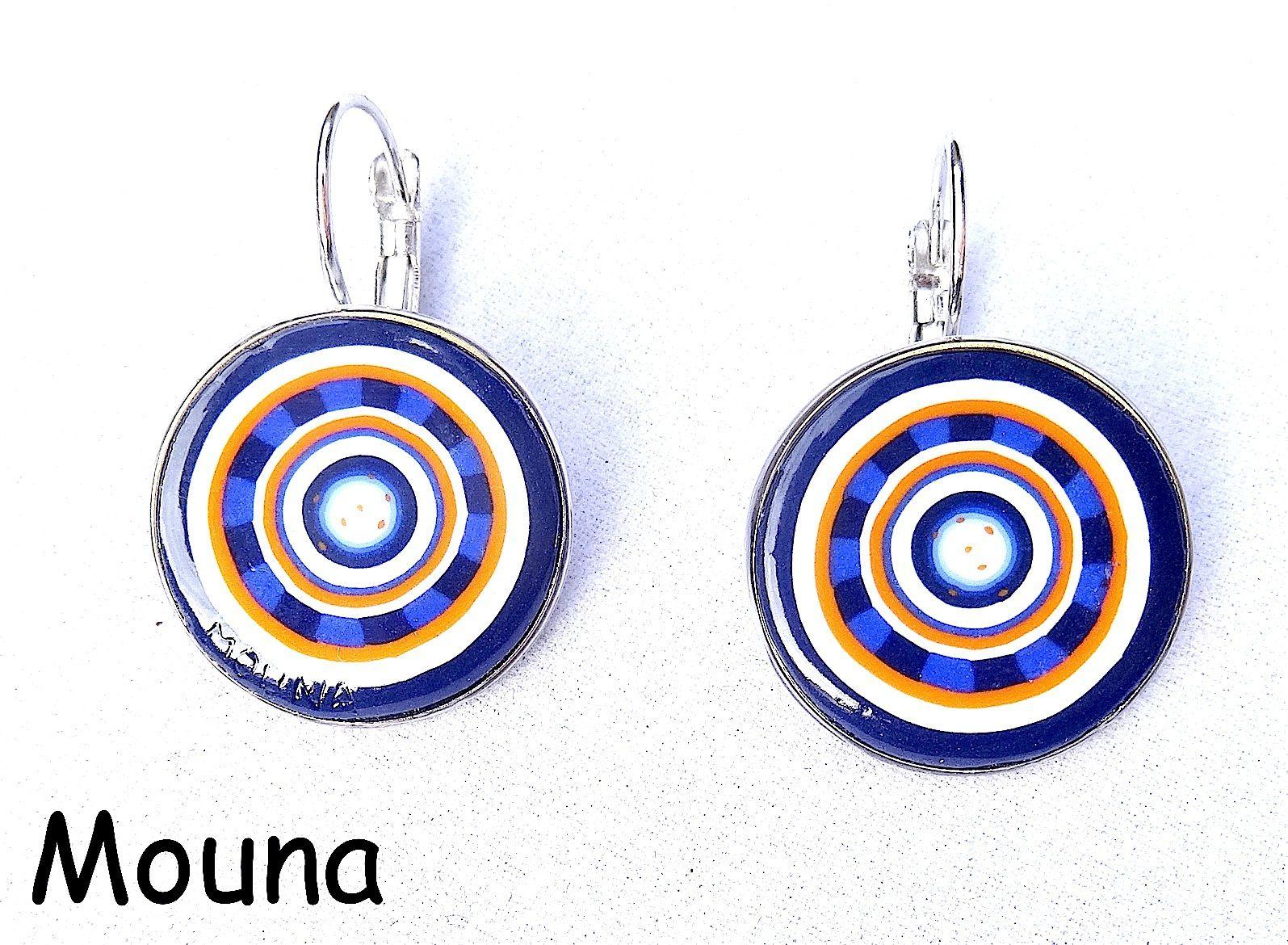 Tarifs: 10 à 18 euros/paire de boucles d'oreilles (pour connaître la disponibilité, cliquez sur la paire de boucles d'oreilles).