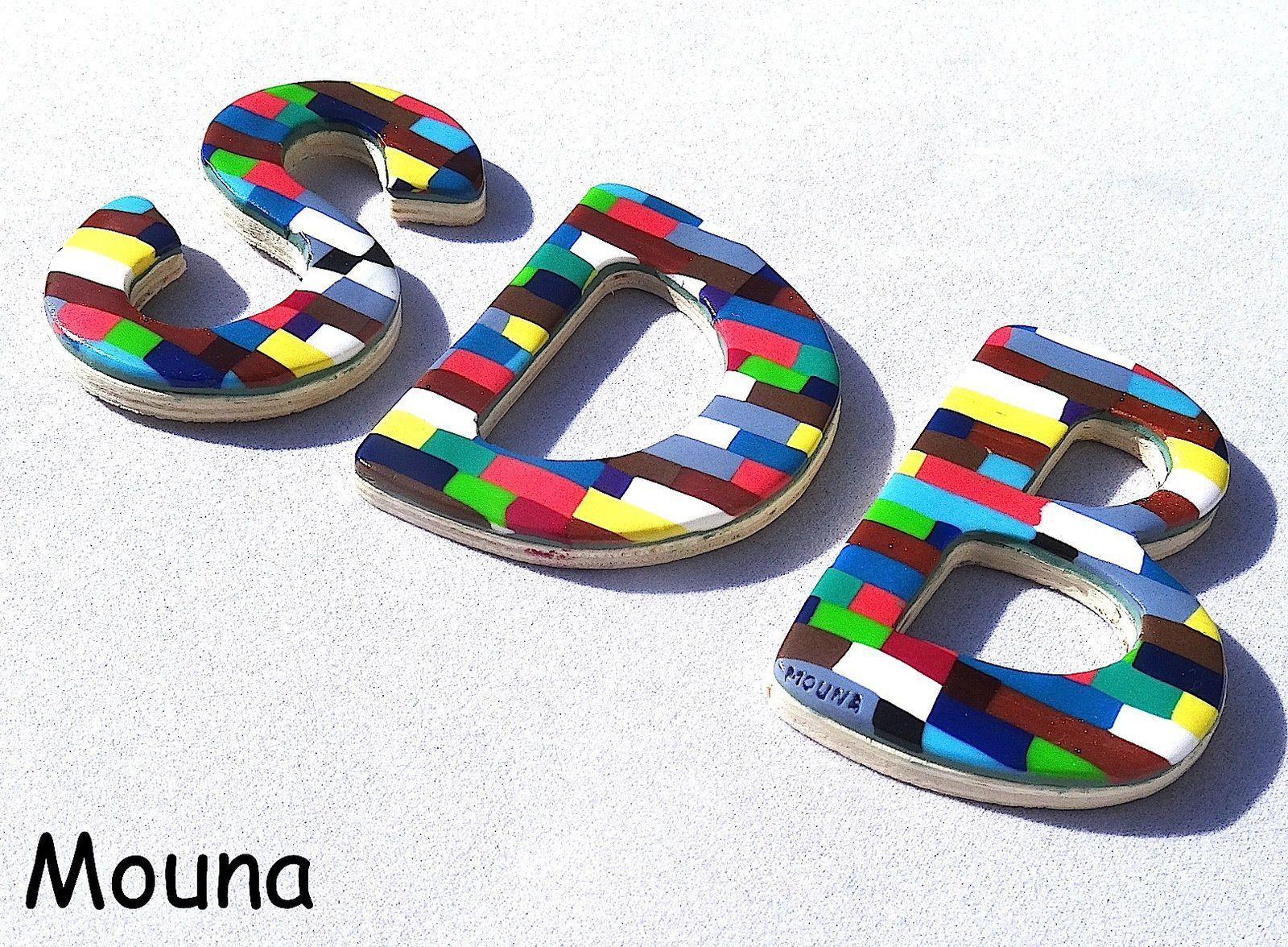 oO° Lettres de porte °Oo