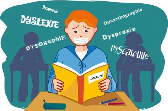 """Pour aider votre enfant en difficulté : commprendre les troubles """"Dys"""" qui sont multiples et peuvent se cumuler"""
