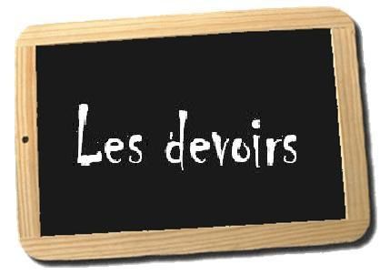 4e : planning devoirs oct-nov