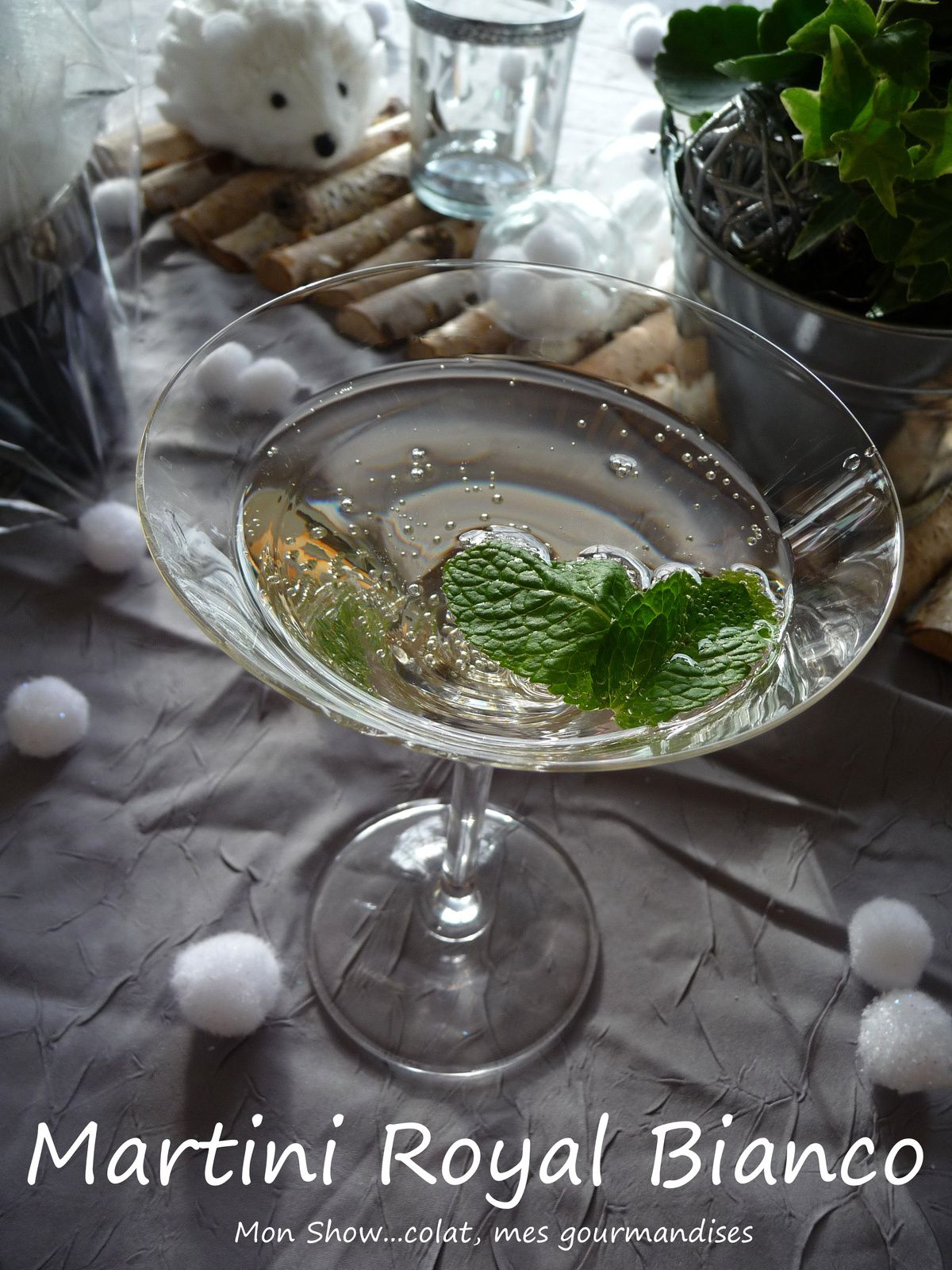 Coktail Martini Royal Bianco