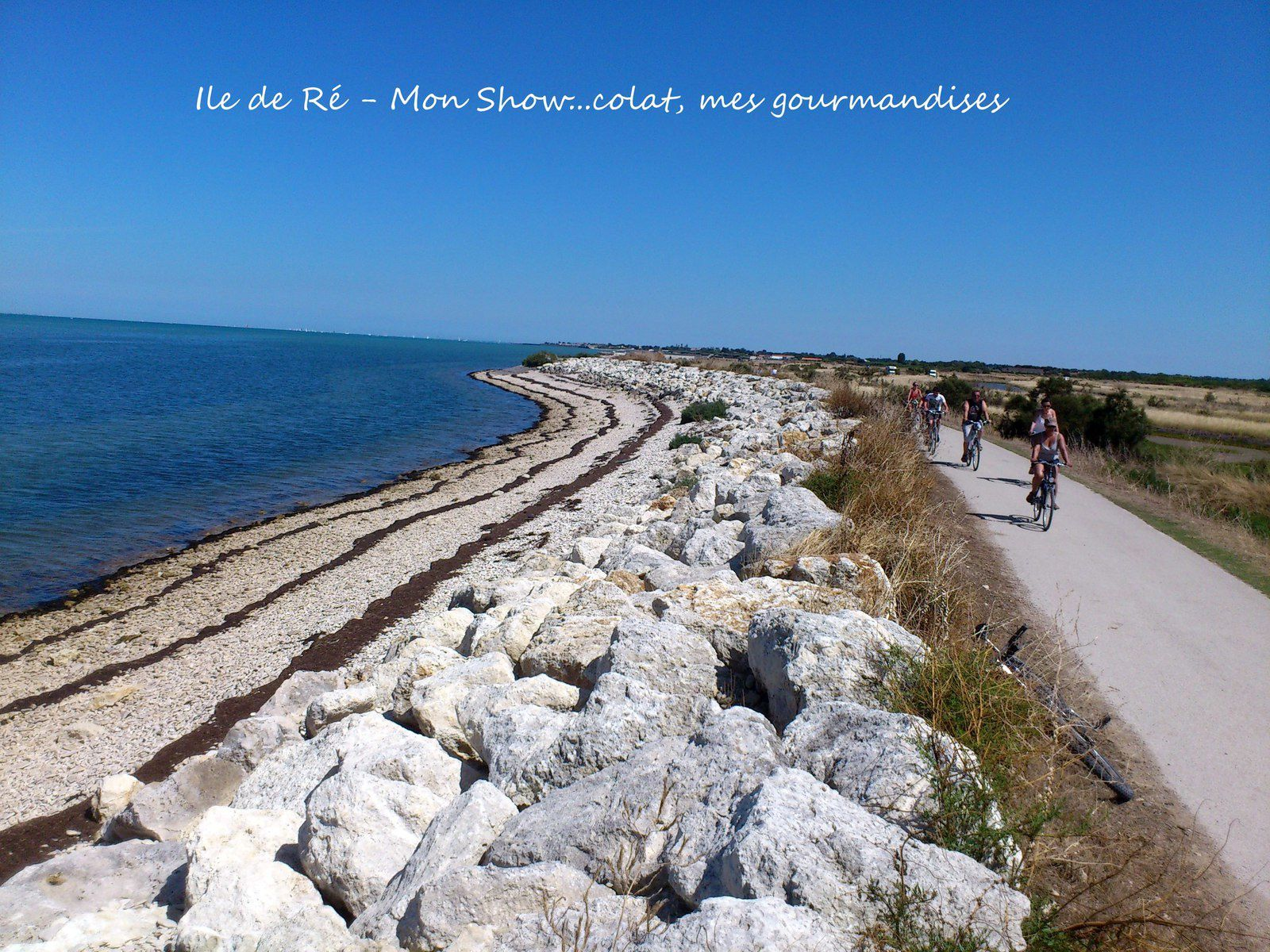 L'île de Ré en famille (jamais sans mon vélo et mes tongs ...)