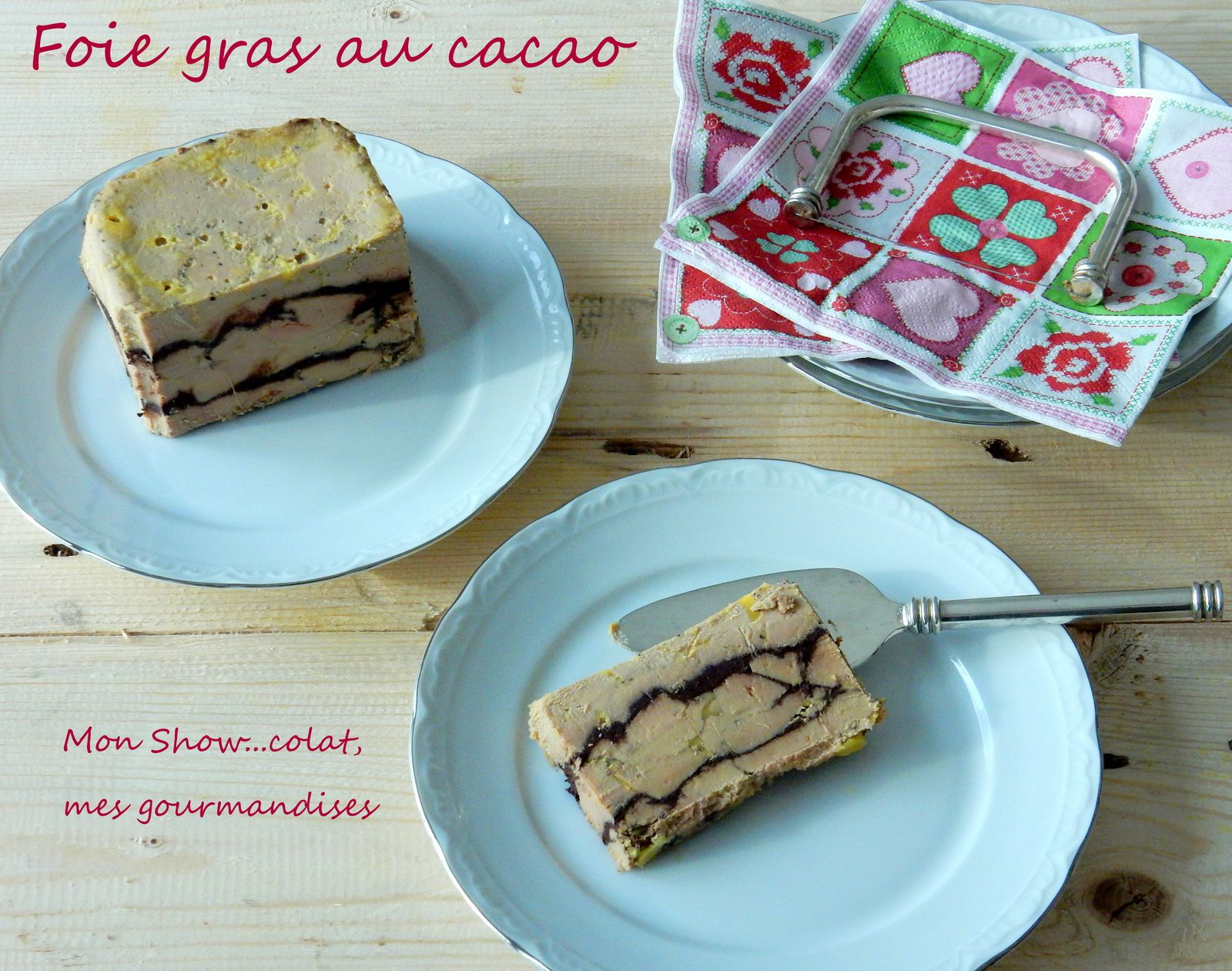 Foie Gras au Cacao (en terrine)