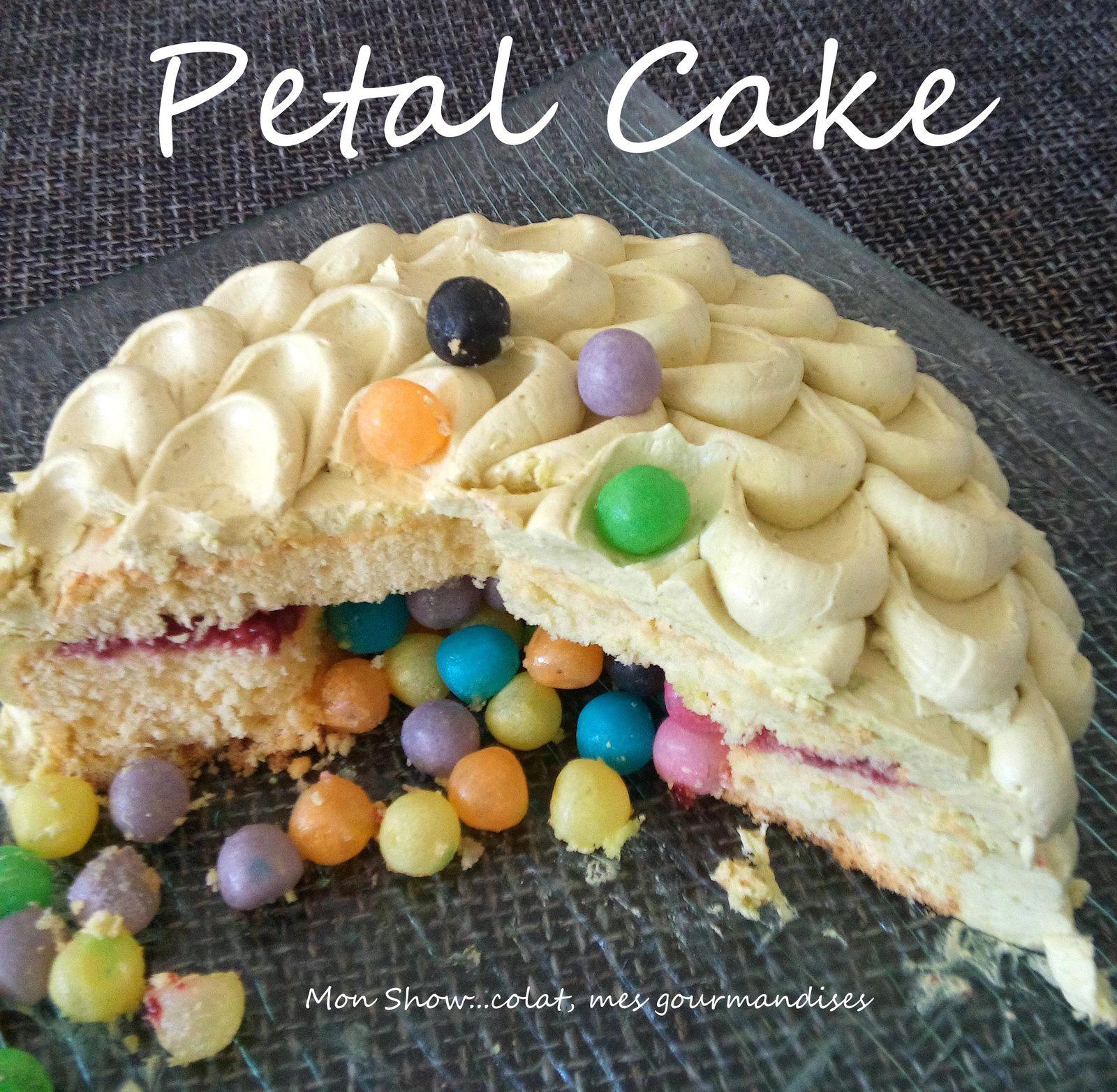 Petal Cake (gâteau pétales) pour un Gâteau Surprise
