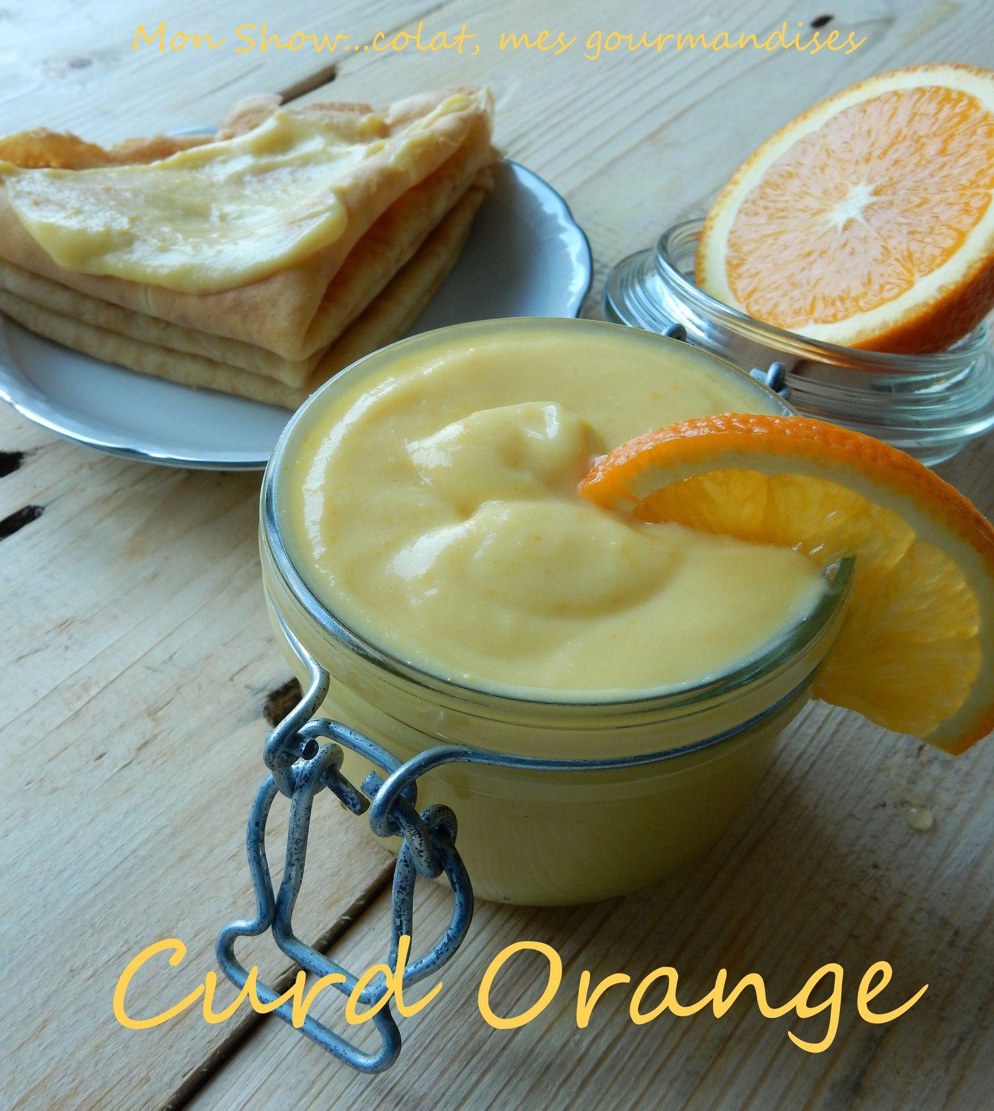 Curd Orange (crème à l'orange)