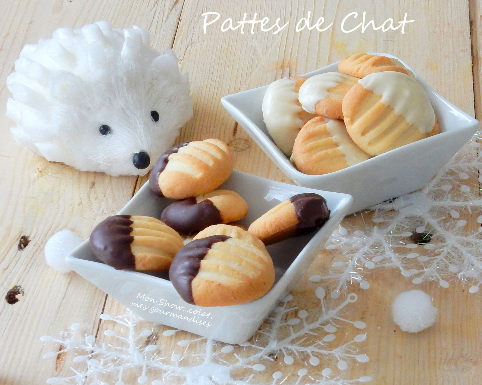 Pattes de Chat (petits gâteaux)