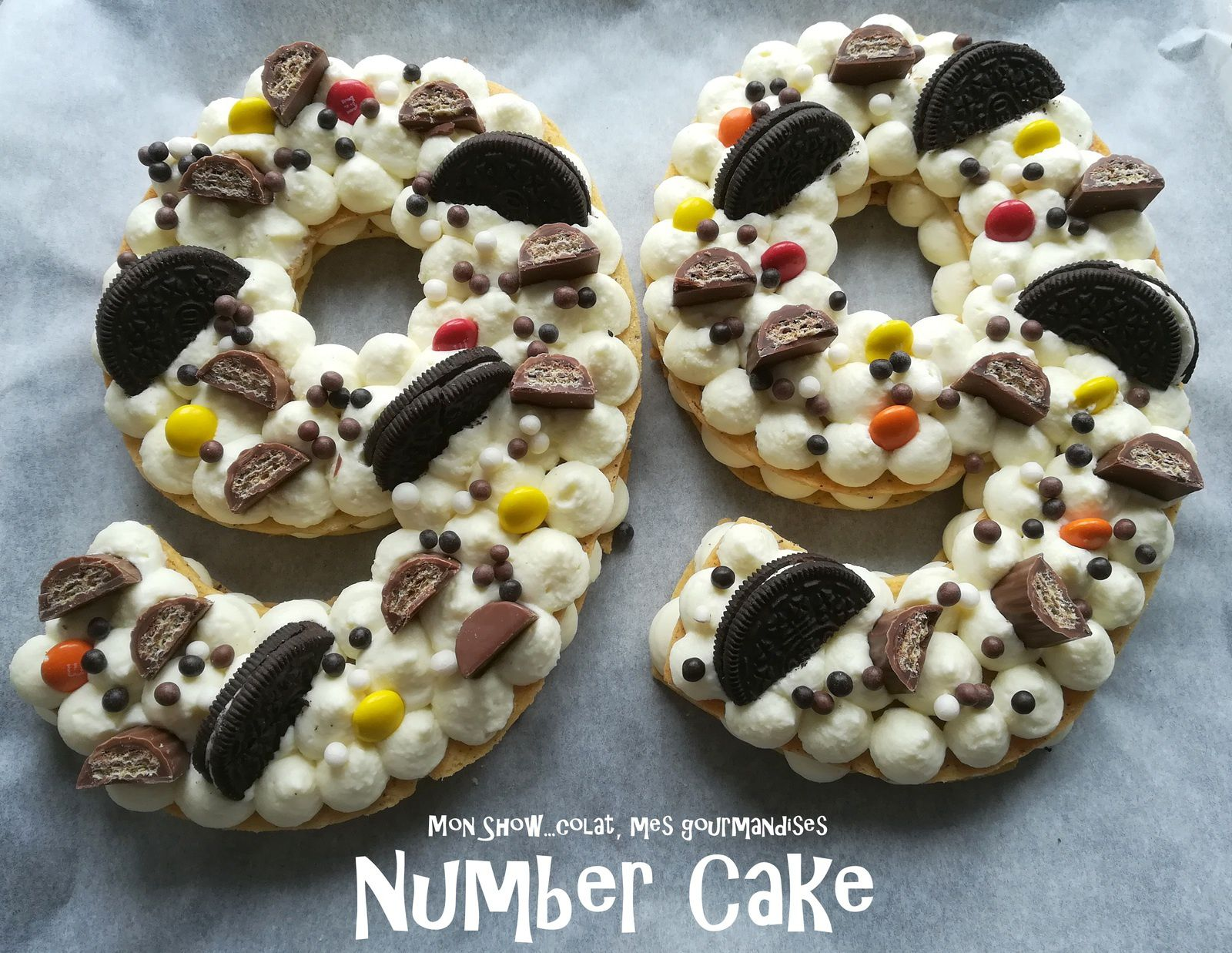 D Number Cakes