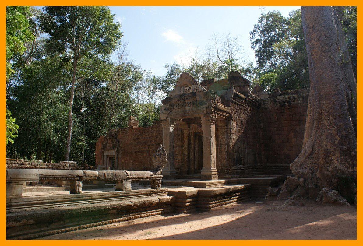 Gopura IV du temple, ouest.